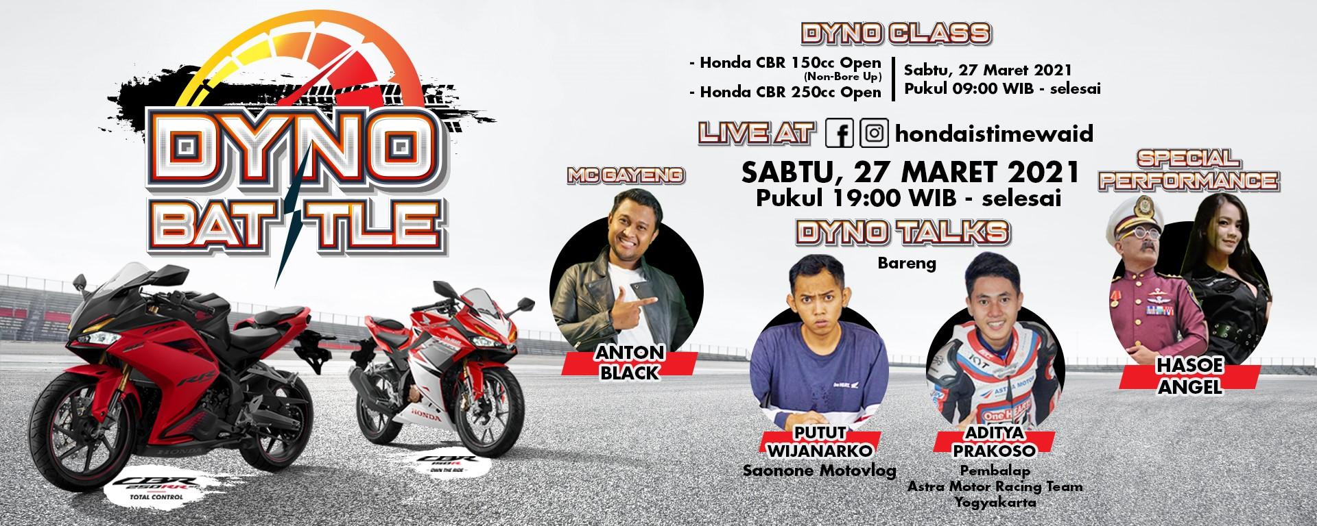 Honda Dyno Battle