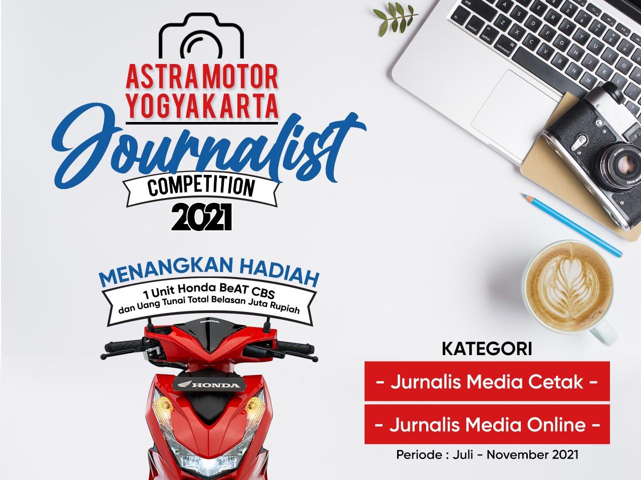 Kirim Karya Astra Motor Yogyakarta Journalist Competition 2021 (Media Online)