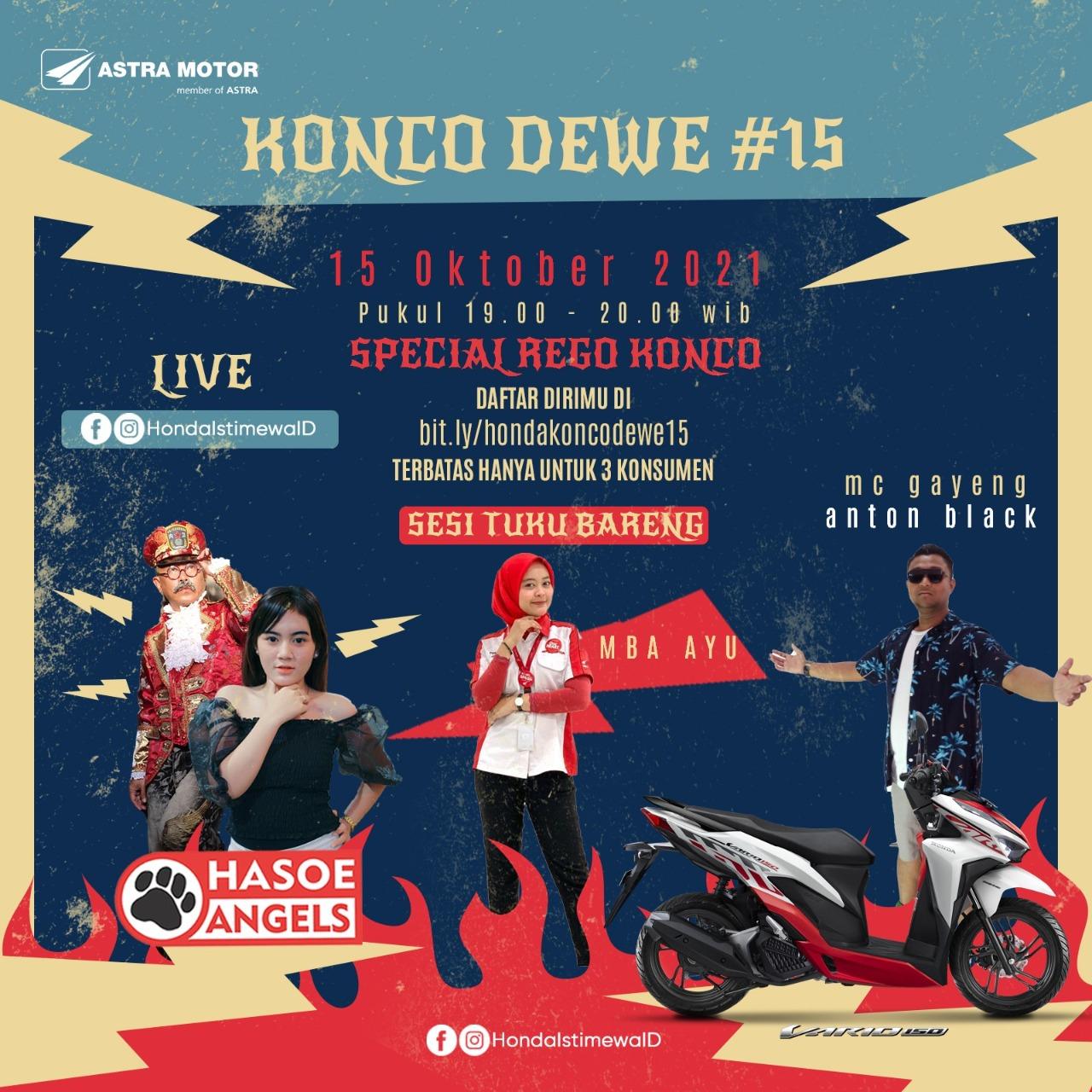 Honda Konco Dewe 15