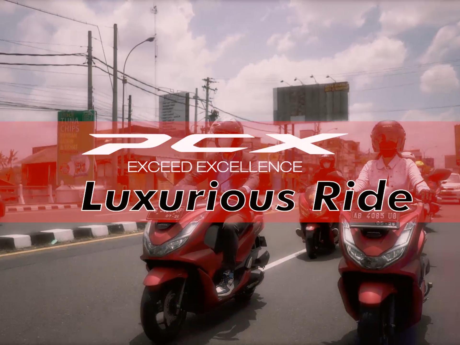 PCX Luxurious Ride 2021 - Yogyakarta